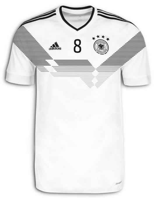 Das neue WM Trikot von Deutschland geleakt.