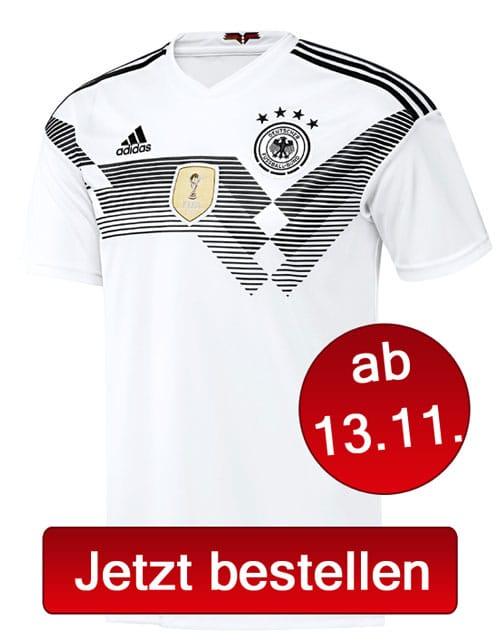 Jetzt das neue DFB-Trikot vorbestellen