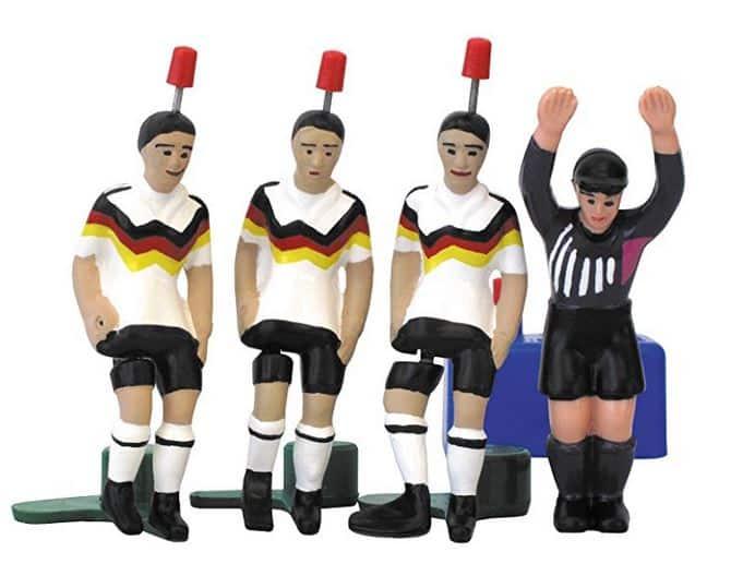 Tipp-Kick Spieler im Deutschlandtrikot