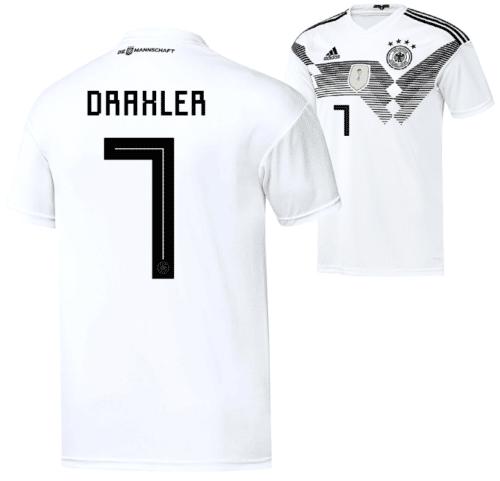 Rückennummer 7: Julian Draxler im neuen DFB Trikot 2018