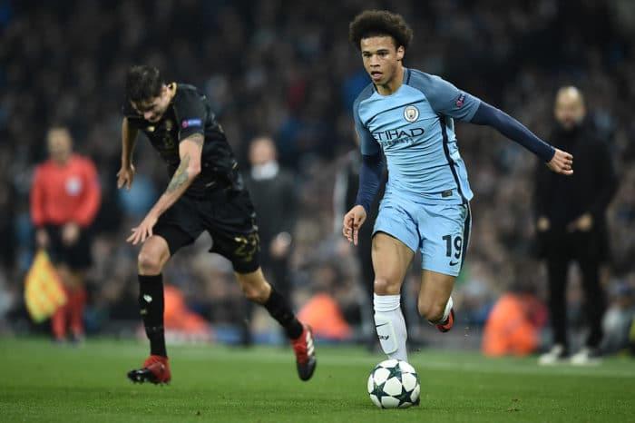 Leroy Sané von Manchester City - sein Marktwert beträgt nun schon 75 Mio. EUR! (Foto AFP)