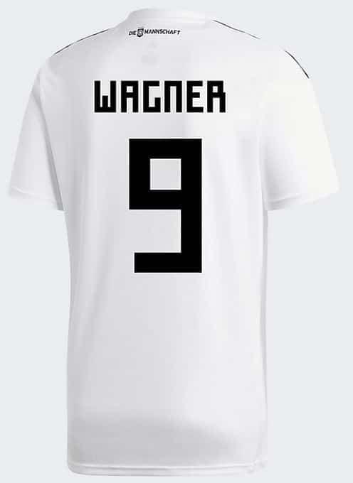 DFB Trikot von Sandro Wagner mit der Nummer 9
