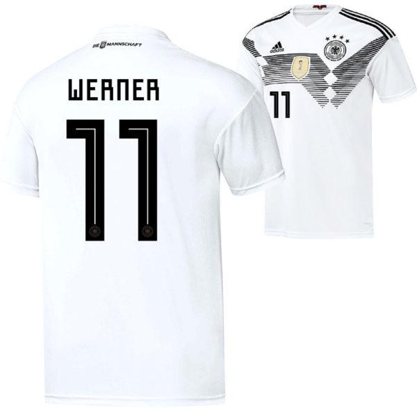 DFB Trikot 2018: Timo Werner mit der Rückennummer 11