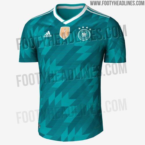 Das neue DFB Auswärts Trikot 2018 von adidas wird wieder grün sein.