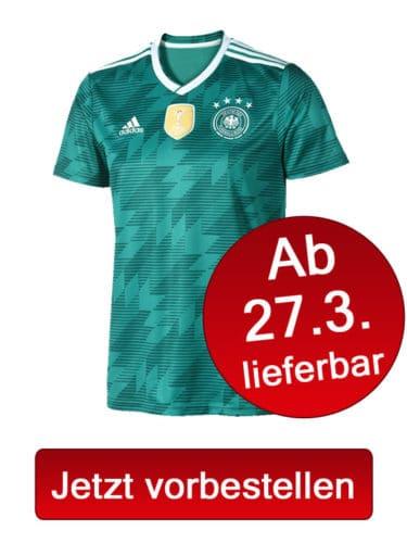 Jetzt das neue DFB Trikot Away vorbestellen.