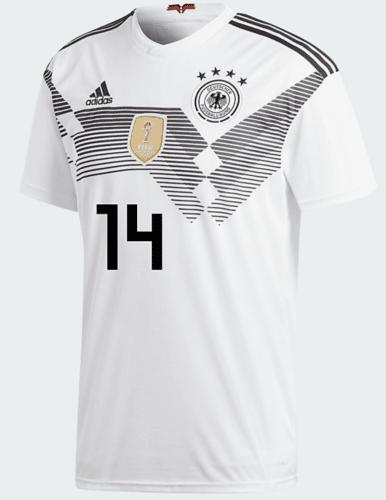 DFB Trikot von EMRE CAN mit der Nummer 14