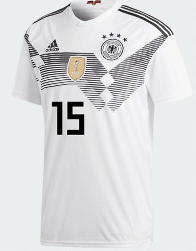 DFB Trikot von Amin Younes mit der Nummer 16