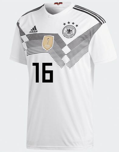 DFB Trikot von Antonio Rüdiger mit der Nummer 16