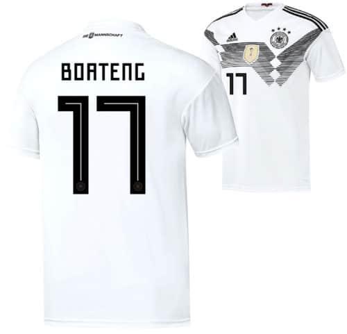Das neue DFB Trikot vom Jerome Boateng 2018.