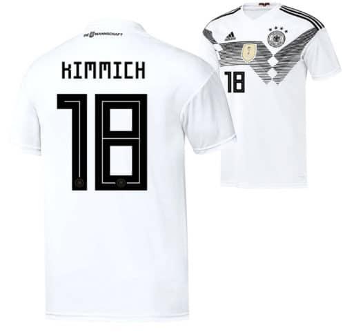 DFB Trikot 2018 von Joshua Kimmich mit der Rückennummer 18.