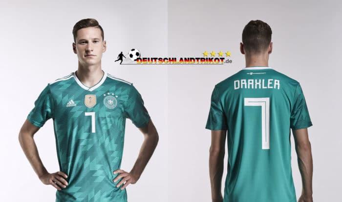Julian Draxler im neuen WM Trikot away von adidas.