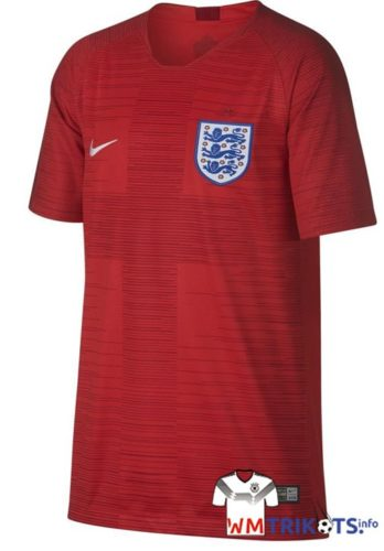 Das neue rote England Awaytrikot 2018