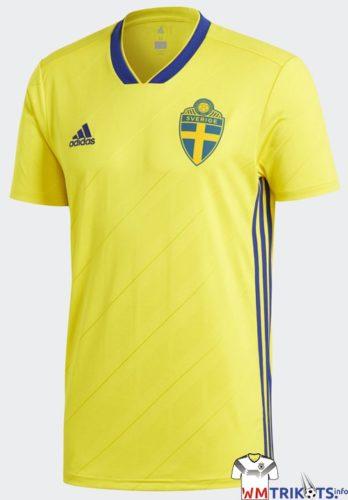 Das neue Schweden Trikot 2018 von adidas