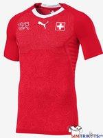 Das neue Puma Schweiz Trikot zur WM 2018