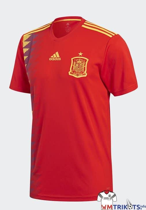 Das neue Spanien WM Trikot von adidas 2018
