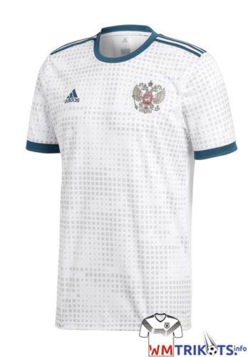Das neue Awaytrikot 2018 von Russland und adidas