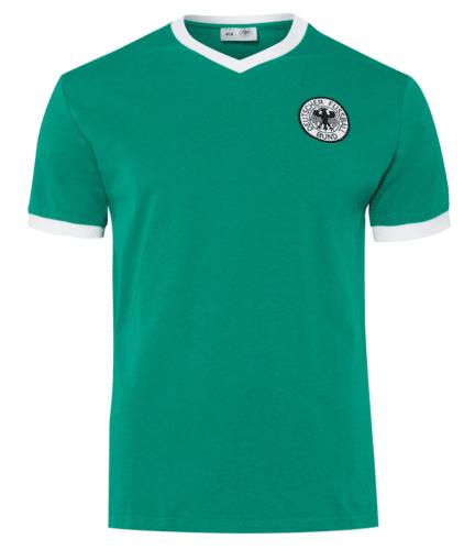 Das Deutschland Retrotrikot von 1974 in grün