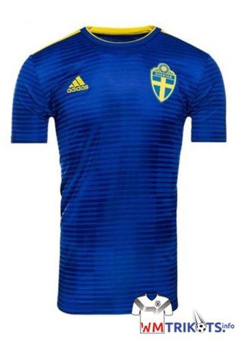 Das neue Schweden Away Trikot 2018 von adidas