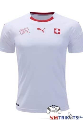 Das neue Puma Schweiz Away Trikot zur WM 2018