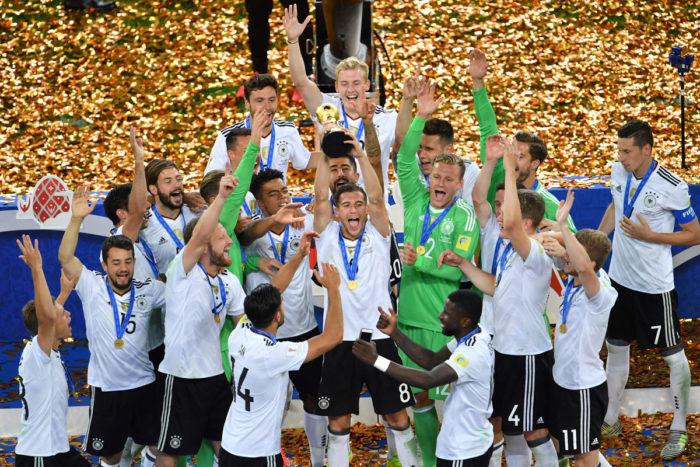 Deutschland gewinnt das Finale des Confed Cups gegen Chile (Foto AFP)
