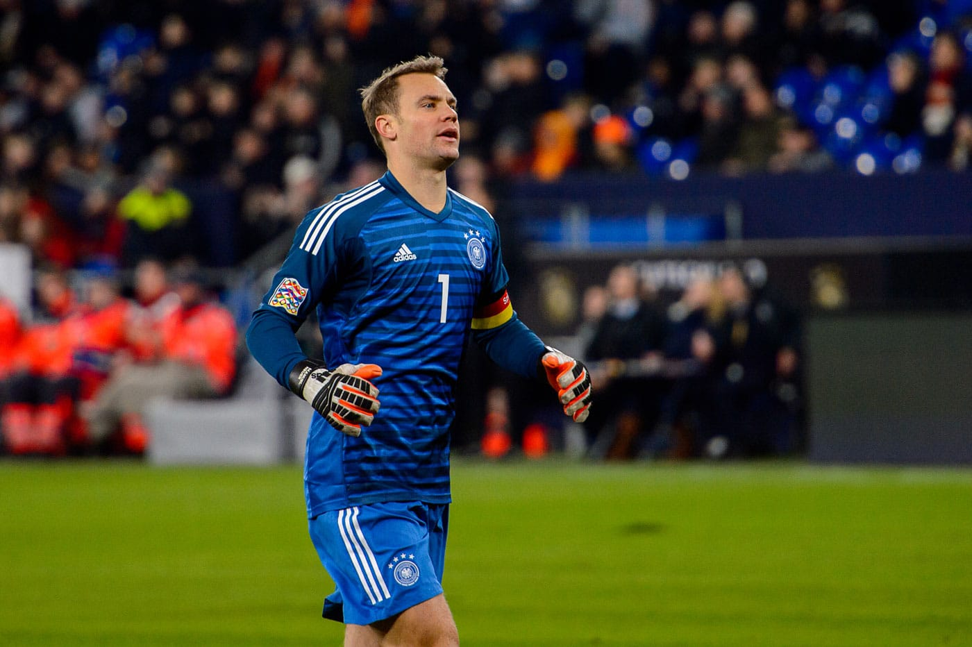 Kapitän und Torwart Nr. 1 im Sommer 2019 gegen die Niederlande im aktuellen DFB Torwarttrikot mit der Nr.1 (Foto Shutterstock)