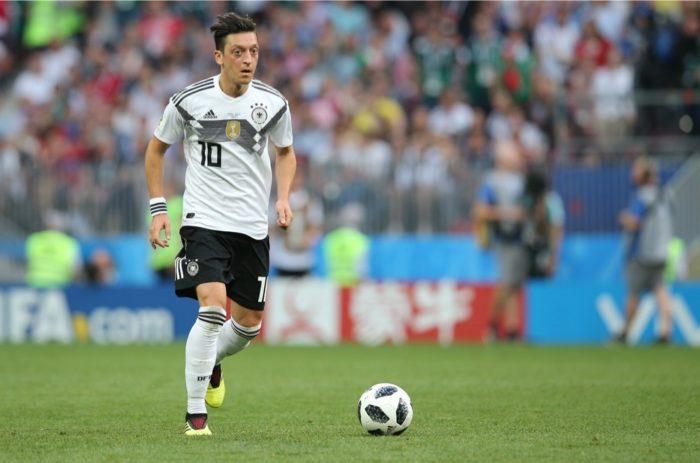 Mesut Özil bei der Fußball WM 2018 - es waren seine letzten drei Länderspiele! (Marco Iacobucci EPP / Shutterstock.com)