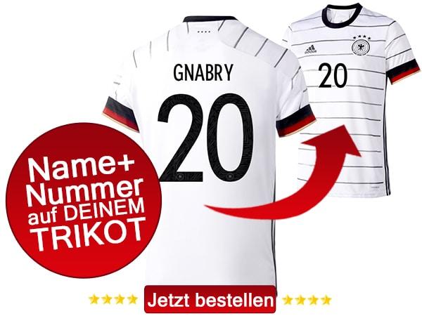 Das neue Gnabry DFB Trikot mit der Nummer 20 kaufen