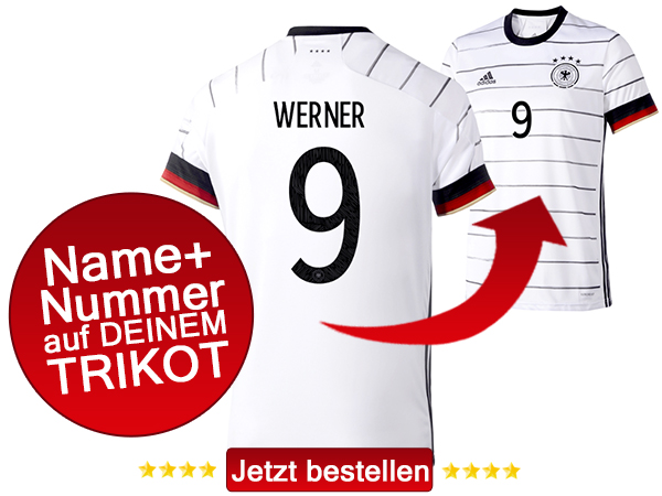 Das neue Timo Werner Trikot 2020 kaufen!