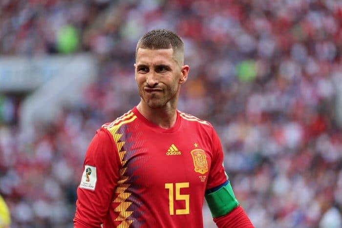 Sergio Ramos - Kapitän und Superstar bei Spanien (Foto Shutterstock)