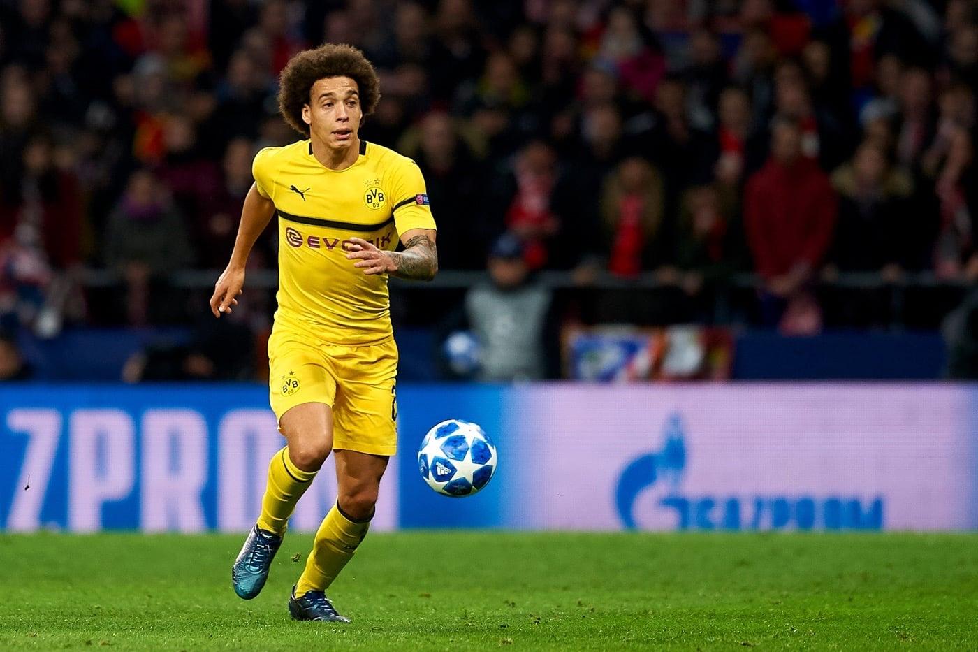 Axel Witsel von Borussia Dortmund ist einer der belgischen Stars der Nationalmannschaft (Foto shutterstock)