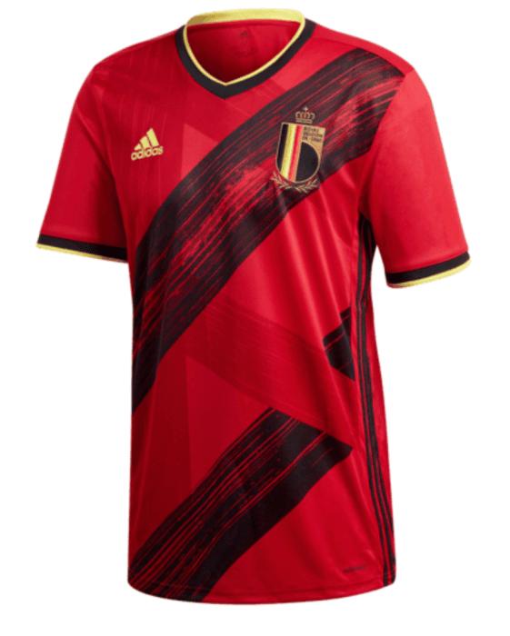 Das neue Belgien EM 2020 Trikot von adidas.