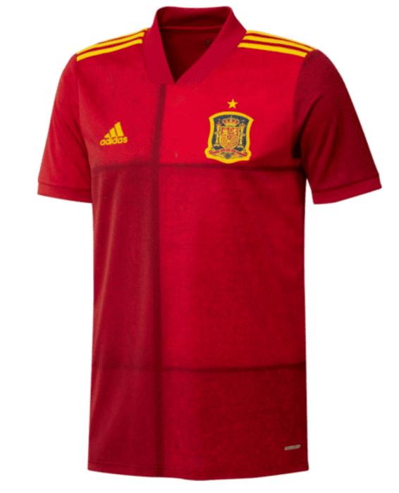 Das Spanien EM Trikot 2020 von adidas.