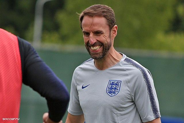 Gareth Southgate, Trainer der Three Lions, will Musiala für die Engländer gewinnen! Кирилл Венедиктов, 194a1767 0, CC BY-SA 3.0