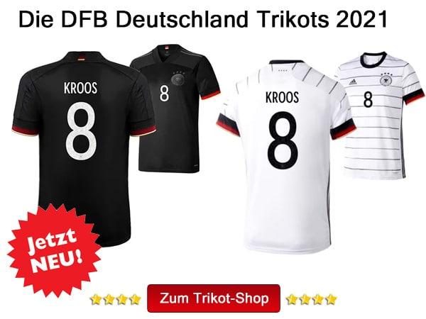 Das Toni Kroos DFB Trikot 2021 kaufen