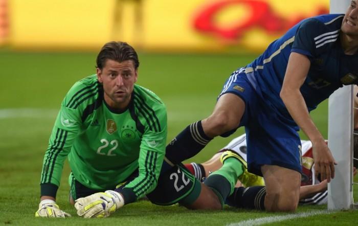 Roman-Weidenfeller-beim-Freundschafts-Länderspiel-gegen-Argentinien-am-3.09.2014-Foto-AFP